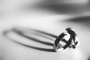 wedding rings concept