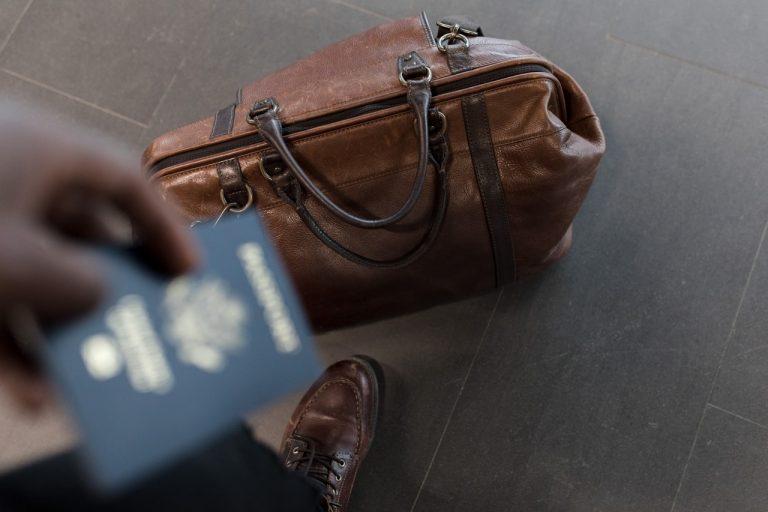bag and passport
