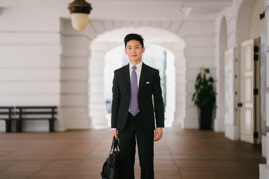 rich Asian businessman